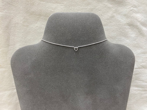 Open heart necklace (#A0150N)