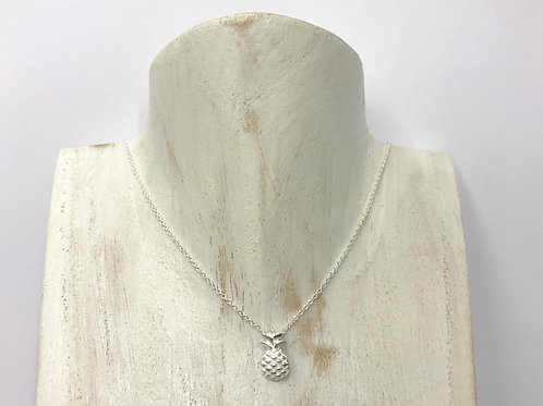 Pineapple (in silver) necklace (#A0930N)