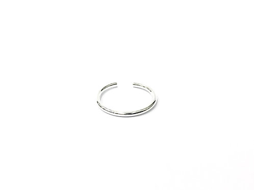 Plain wire toe ring (#7321-13)