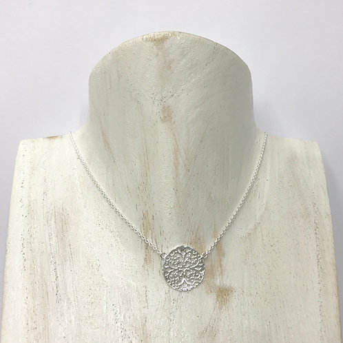 Round filigree necklace (#A0887N)