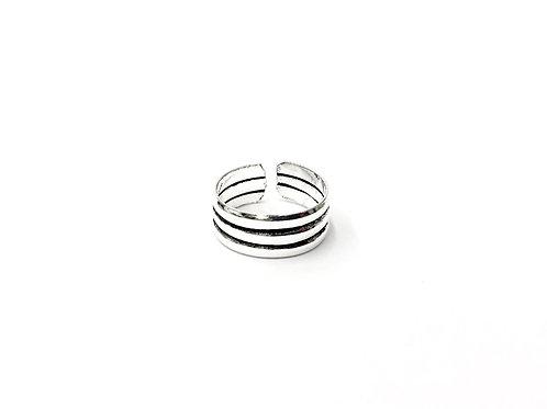 3-plain row toe ring (#7321-64)