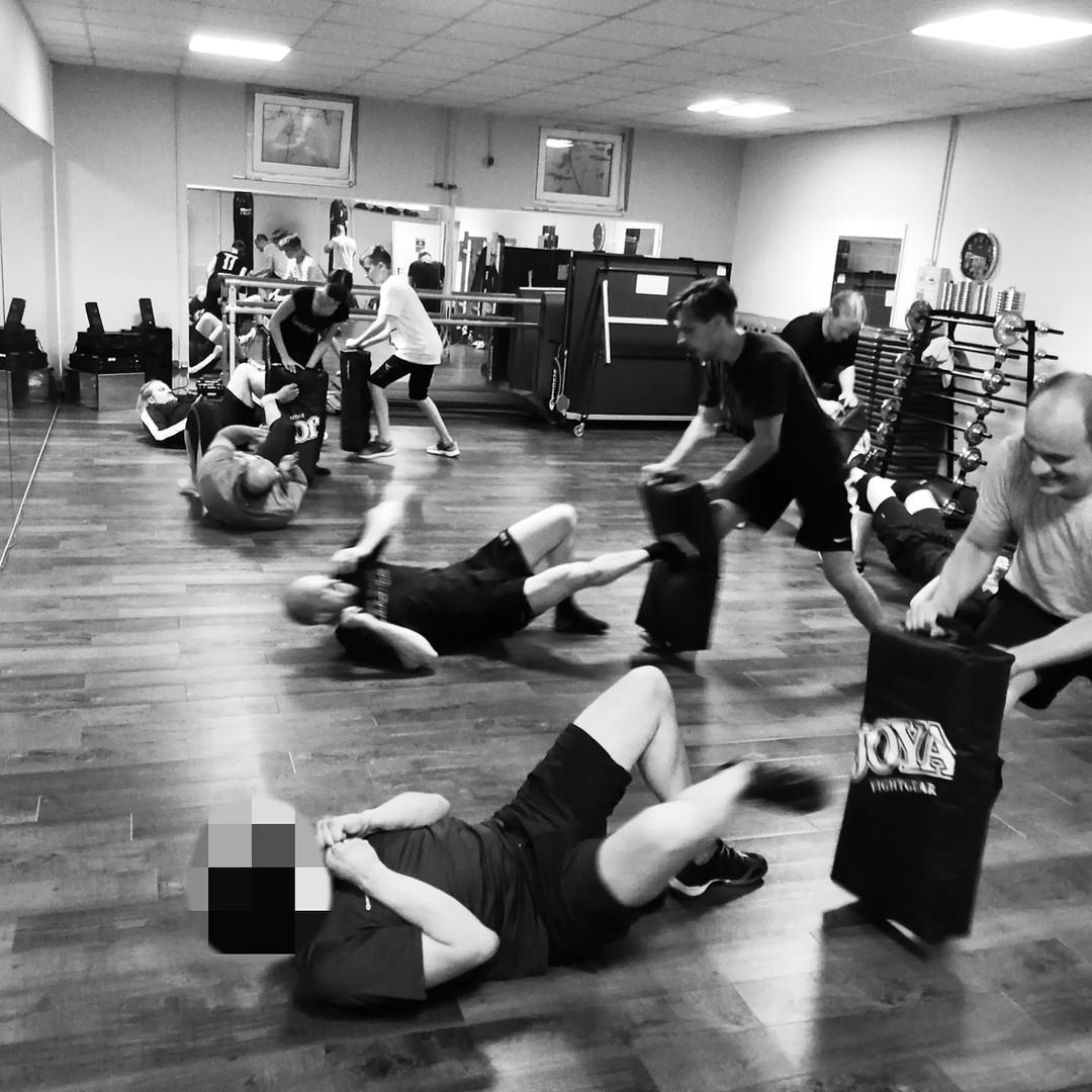 Blick in unsere Kampfsportschule