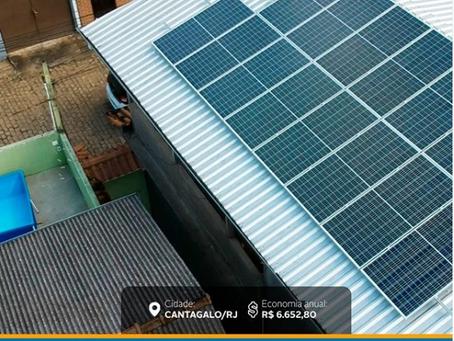 ENERGIA SOLAR NÃO É GASTO, É INVESTIMENTO
