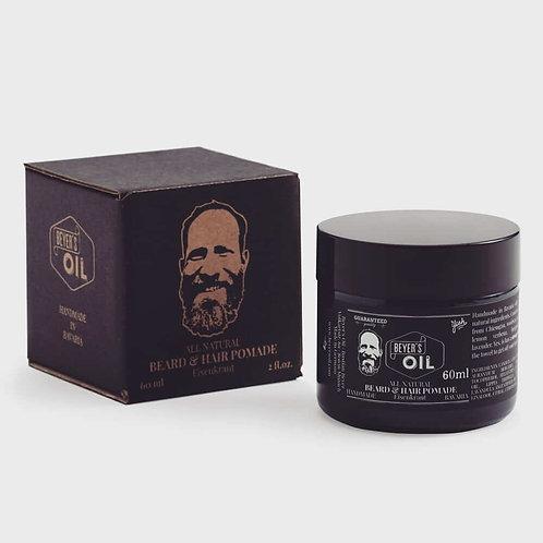 Beyer's Oil Bart- und Haarpomade Eisenkraut 60 ml