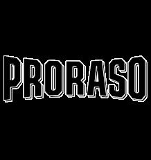 Proraso Logo Schwarz Weis ohne Hintergru
