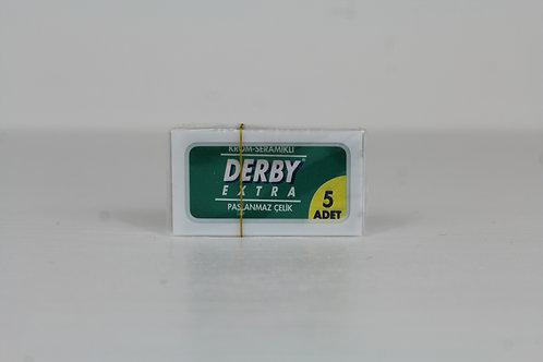 Derby Grün 5 Rasierklingen