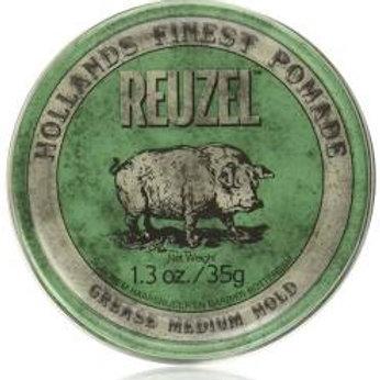 Reuzel Green Grease Medium Hold 35g / 113g / 340g
