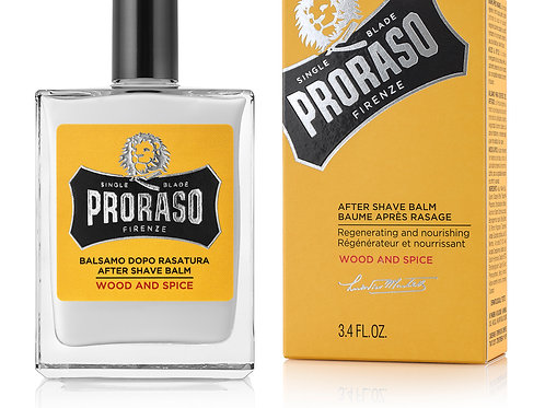 Proraso Wood & Spice After Shave Balm 100ml