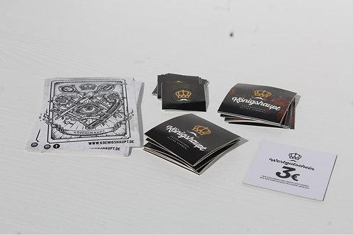 Stickersammlung + 3€ Wertgutschein