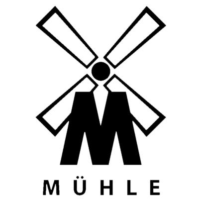 Mühle Rasurkultur Logo ohne Hintergrund