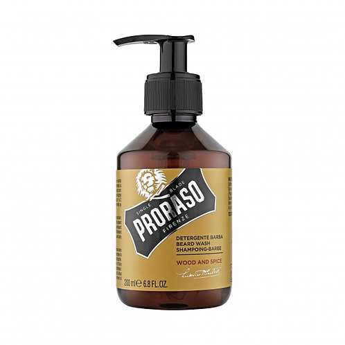 Proraso Wood & Spice Beard Wash 200ml