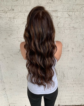 Hair SLAY of the day!! Balayage color co