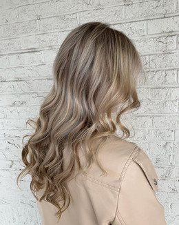 Some photos of our latest blonde balayag