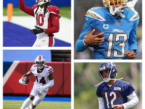 Who has been the most consistent WR over the past three seasons?