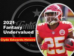 2021 Fantasy Football UnderValued - Clyde Edwards-Helarie