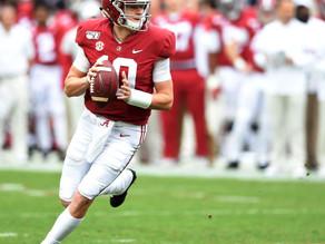 2021 NFL Draft Prospect QB Mac Jones