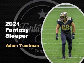 2021 Fantasy Football Sleeper - TE Adam Trautman