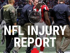 Week 7 Injury Report