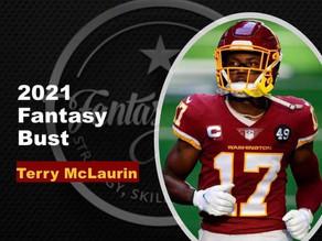 2021 Fantasy Football Bust - WR Terry McLaurin