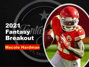 2021 Fantasy Football Breakout - WR Mecole Hardman
