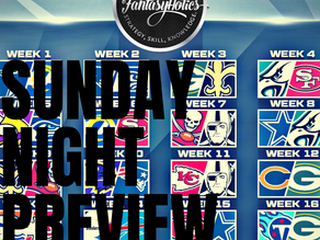 Sunday Night Preview