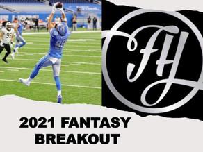 2021 Fantasy Football Breakout - TE T.J. Hockenson