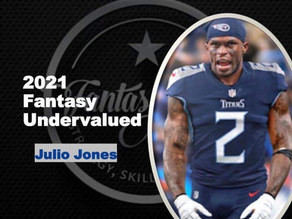 2021 Fantasy Football Undervalued Player - WR Julio Jones