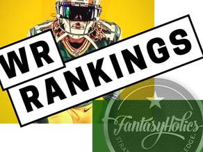 FantasyHolics Week 10 WR Rankings