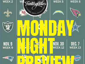 Monday Night Preview