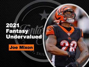 2021 Fantasy Football Under-Valued Player - RB Joe Mixon