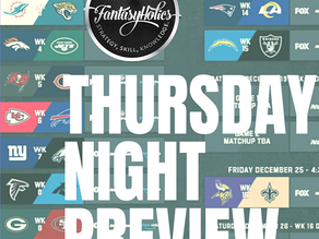 Thursday Night Preview