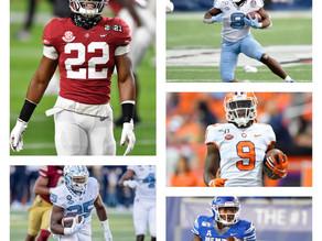 2021 NFL Draft Class - Top 5 RBs