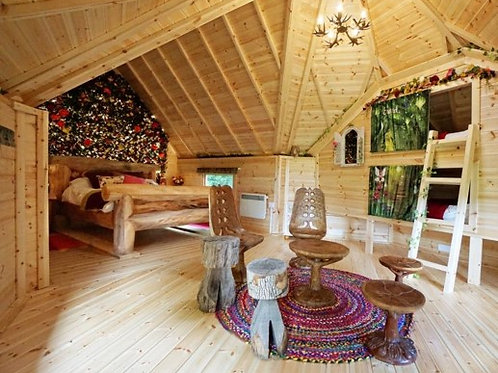 2nts Glamping in Woodland Retreat Ticket (for 4 ppl)