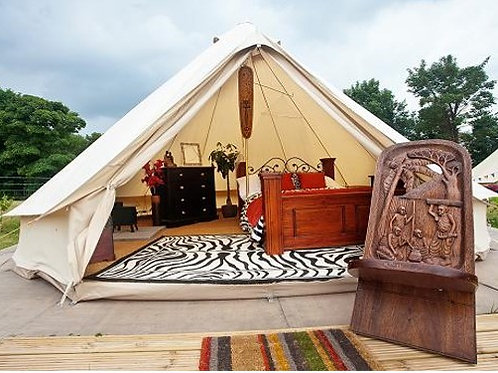 2nts Glamping in Private Tent Ticket (for 3 ppl)