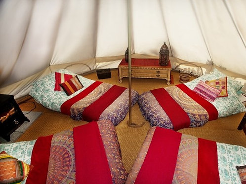2nts Glamping in Moroccan Tent Ticket (per person)