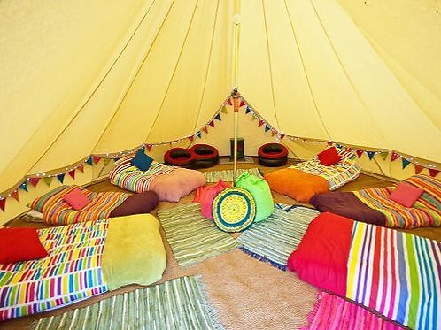 2nts Glamping in Festival Tent Ticket (per person)