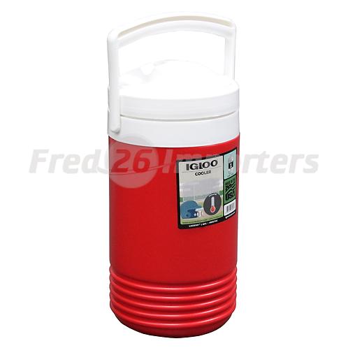 Igloo 1 Gallon Legend Beverage Cooler, Red