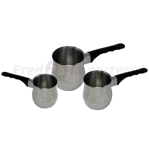 3Pcs. S/S Milk Pot Sets