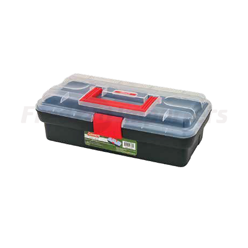 "Coleman 12"" Plastic Tool Box"
