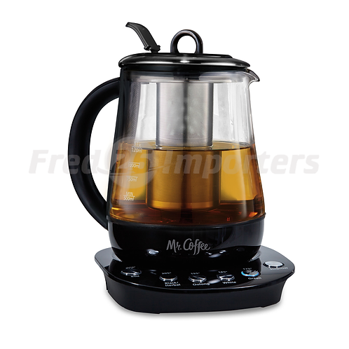 Mr. Coffee® Hot Tea Maker and Kettle - Black