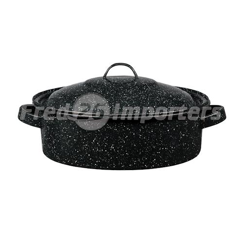 Granite Ware 5Qt Covered Casserole Black