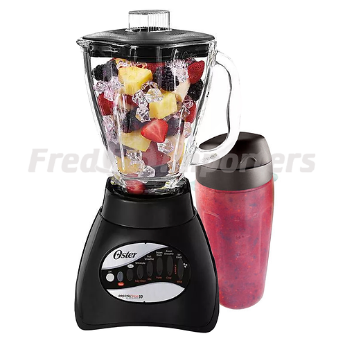 Oster 10 Speed Glass Blender w/ Blend-N-Go Cup