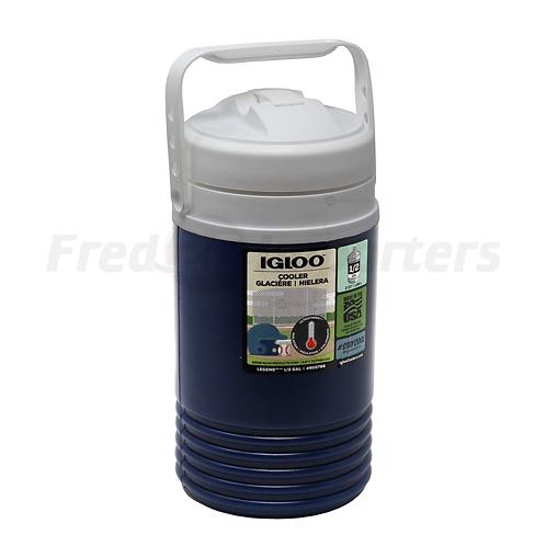 Igloo 1/2 Gal. Legend Beverage Jug, Navy Blue