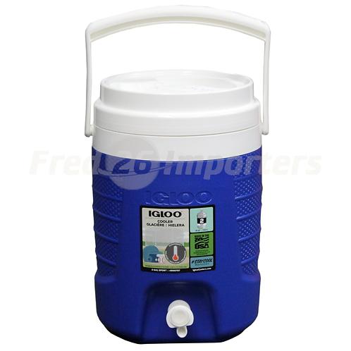 Igloo 2 Gallon Sport Water Jug, Blue