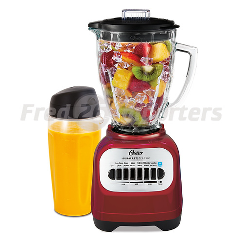 Oster Classic Series 8-Speed Blender with Travel Smoothie Cup