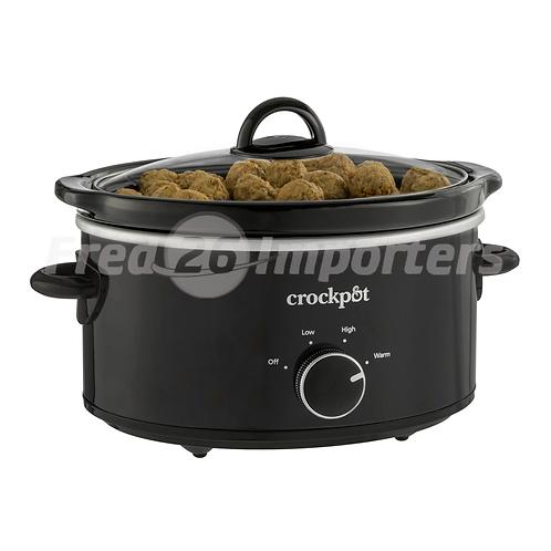 Crock-Pot 4Qt Oval Slow Cooker