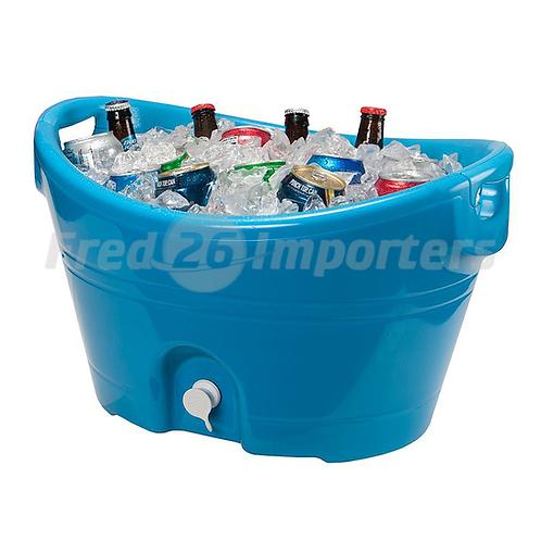 Igloo 20Qt Party Bucket Cooler, Blue