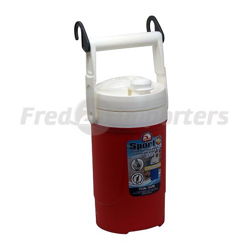 Igloo 1/2 Gallon Sport Beverage Cooler w/ Hooks, Red
