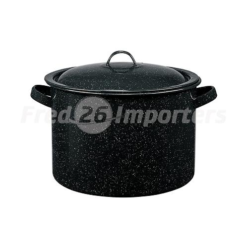 Granite Ware - 7.5Qt Stew Pot Black