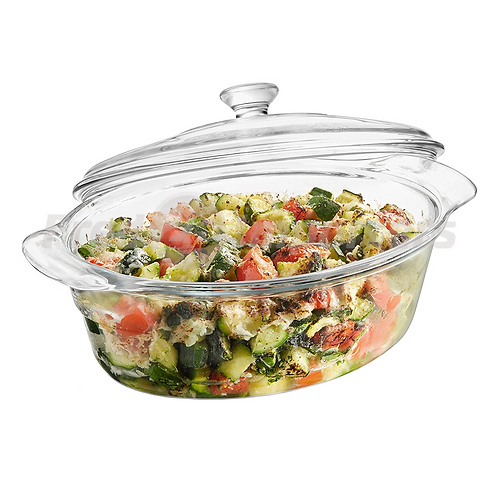 Libbey 2Qt Glass Baking Dish with Cover
